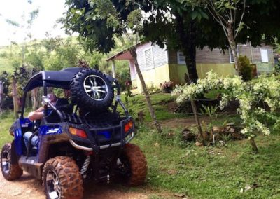 Buggy coffee route